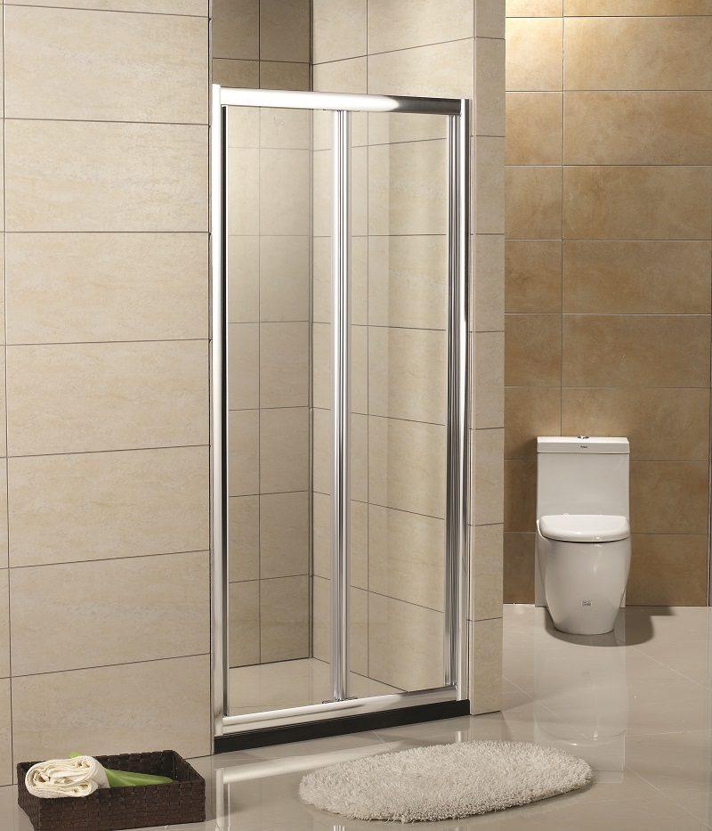 750mm Bi Fold Shower Door Only Suitable For 3 Sides Wall