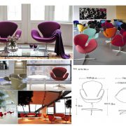 swan chair color